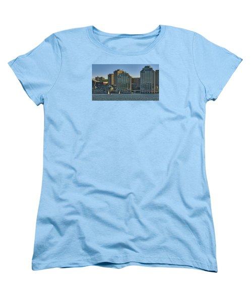 Twin Purdy Towers Of Halifax Women's T-Shirt (Standard Cut) by Ken Morris