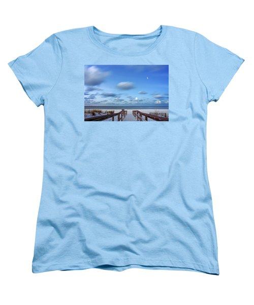 Twinkling Stars Women's T-Shirt (Standard Cut) by Don Spenner