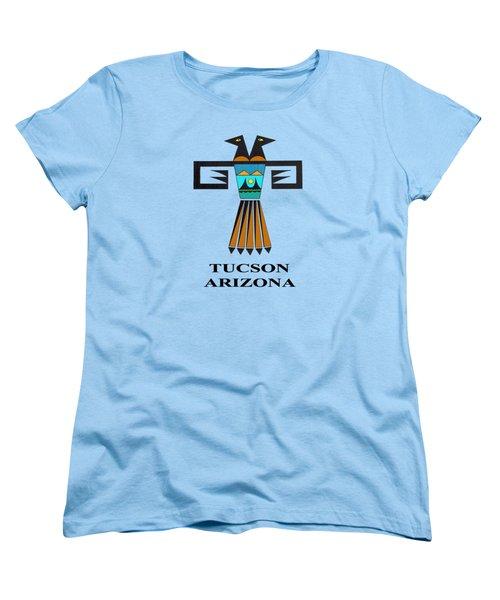 Two-headed Bird Tucson, Az Women's T-Shirt (Standard Cut) by Vagabond Folk Art - Virginia Vivier