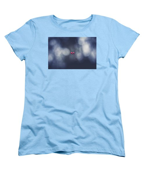 Women's T-Shirt (Standard Cut) featuring the photograph two by Shane Holsclaw