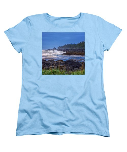 Ucluelet, British Columbia Women's T-Shirt (Standard Cut) by Heather Vopni