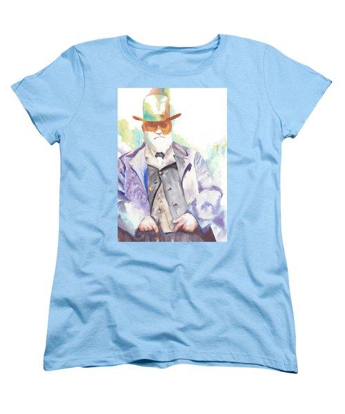 Uncle David Nation, Circa 1900 Women's T-Shirt (Standard Cut) by Tara Moorman
