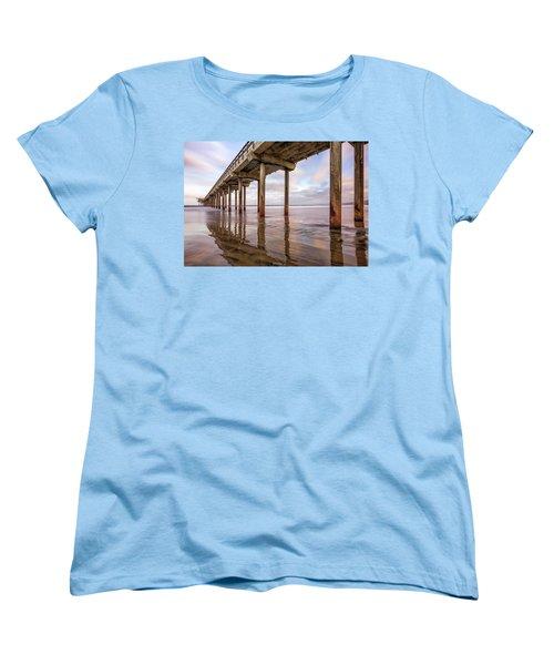 Under Scripps Women's T-Shirt (Standard Cut) by Joseph S Giacalone
