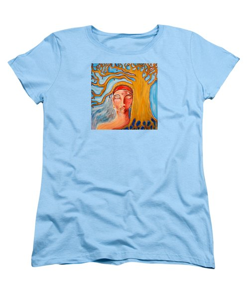 Under The Bodhi Tree Women's T-Shirt (Standard Cut) by Theresa Marie Johnson