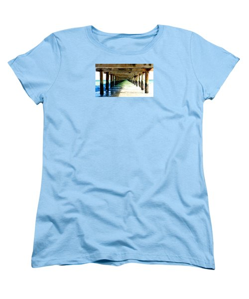 Anna Maria Island Pier Excellence In Photography Award 2016 Women's T-Shirt (Standard Cut) by Margie Amberge