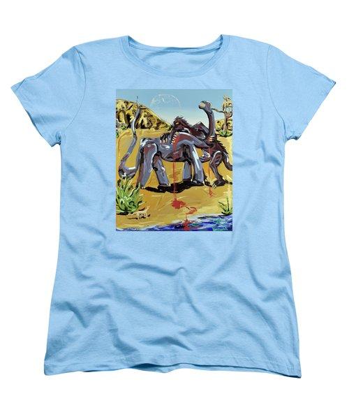 Under The Sun Women's T-Shirt (Standard Cut) by Ryan Demaree