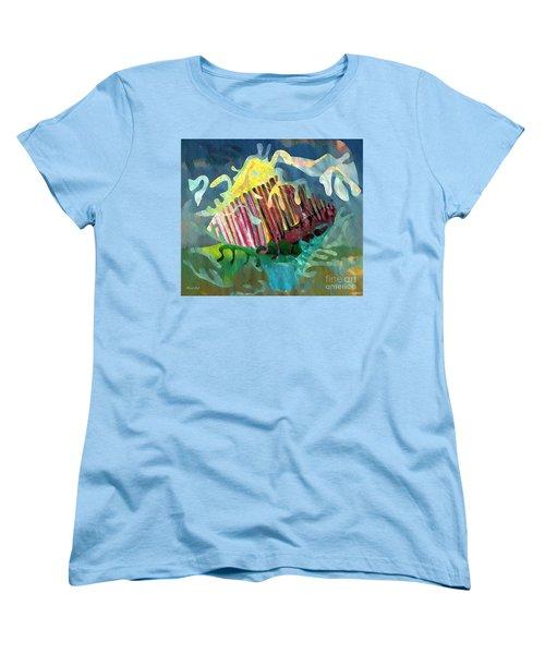 Undersea Still Life Women's T-Shirt (Standard Cut) by Sarah Loft