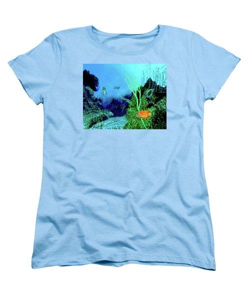 Underwater Women's T-Shirt (Standard Cut) by Stan Hamilton