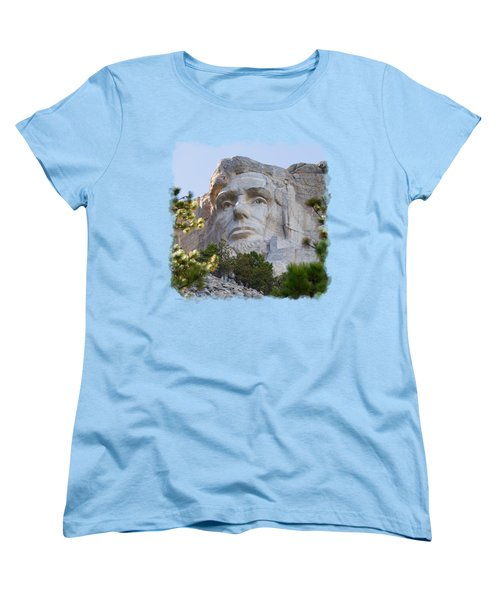 Unfinished Lincoln 3 Women's T-Shirt (Standard Cut) by John M Bailey