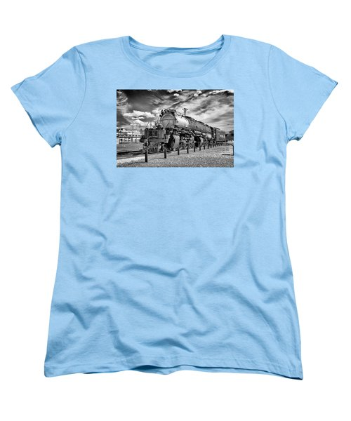 Women's T-Shirt (Standard Cut) featuring the photograph Union Pacific 4-8-8-4 Big Boy by Paul W Faust - Impressions of Light