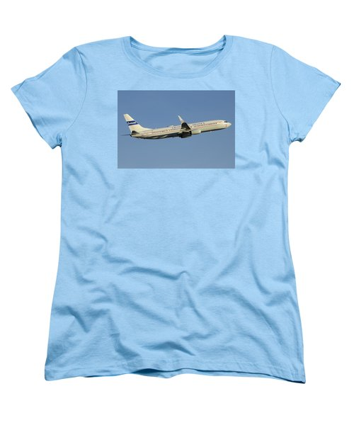 United Boeing 737-924 N75436 Retro Continental Phoenix Sky Harbor December 9 2015 Women's T-Shirt (Standard Cut)