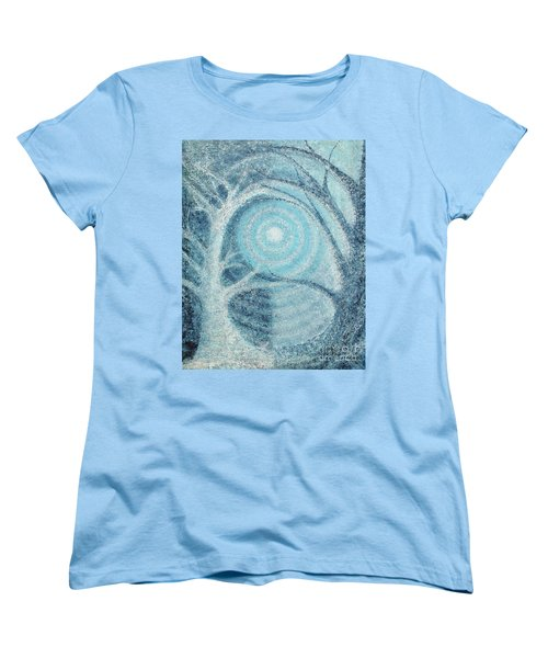 Women's T-Shirt (Standard Cut) featuring the painting Unity by Holly Carmichael