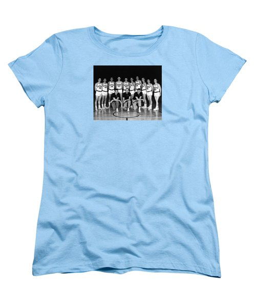 University Of Michigan Basketball Team 1960-61 Women's T-Shirt (Standard Cut) by Mountain Dreams