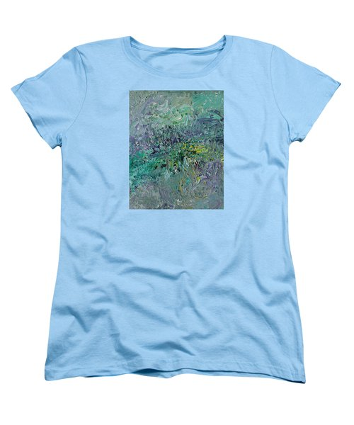 Blind Giverny Women's T-Shirt (Standard Cut) by Ralph White