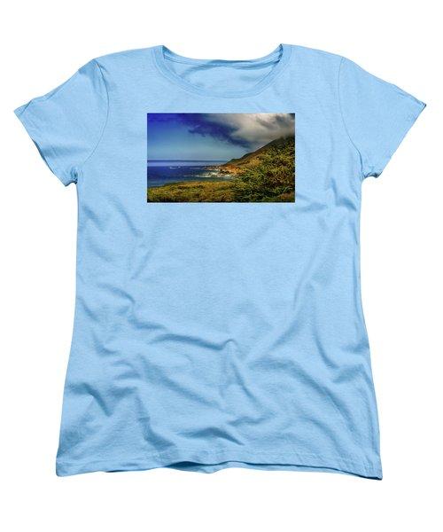 Up Coast Women's T-Shirt (Standard Cut) by Joseph Hollingsworth