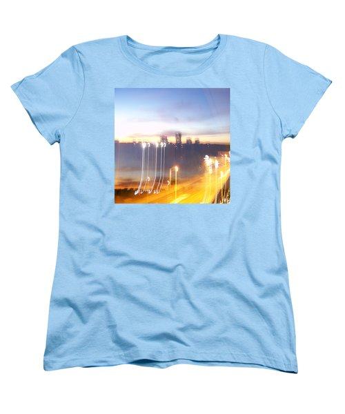 Uptown Toronto - Friday Night Women's T-Shirt (Standard Cut) by Serge Averbukh