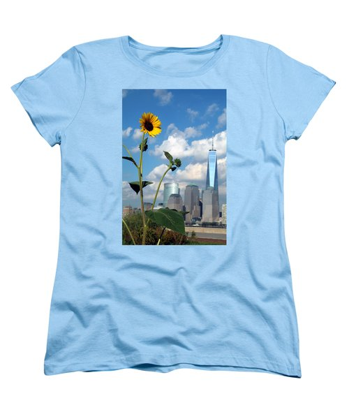 Urban Contrast Women's T-Shirt (Standard Cut) by Michael Dorn
