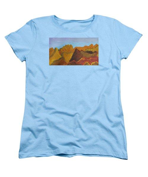 Utah Mountains Women's T-Shirt (Standard Cut) by Don Koester
