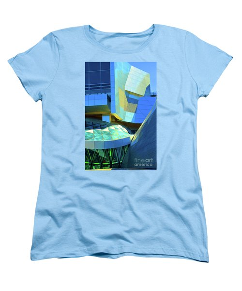 Utzon Center In Aalborg Denmark Women's T-Shirt (Standard Cut) by Eva Kaufman