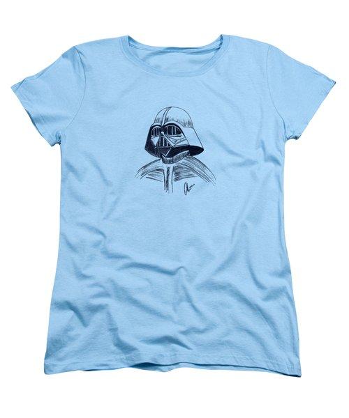 Vader Sketch Women's T-Shirt (Standard Cut) by Chris Thomas