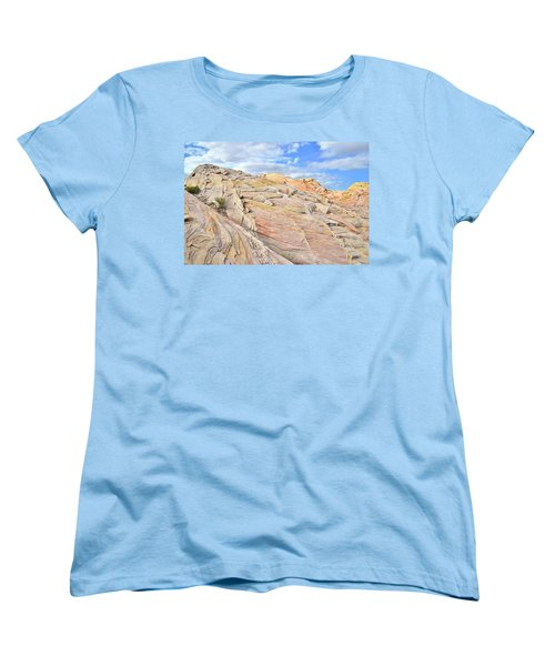 Valley Of Fire High Country Women's T-Shirt (Standard Cut) by Ray Mathis