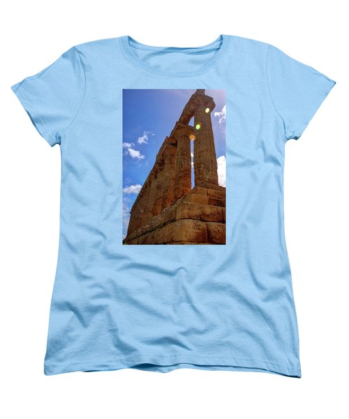 Valley Of The Temples Iv Women's T-Shirt (Standard Cut) by Patrick Boening