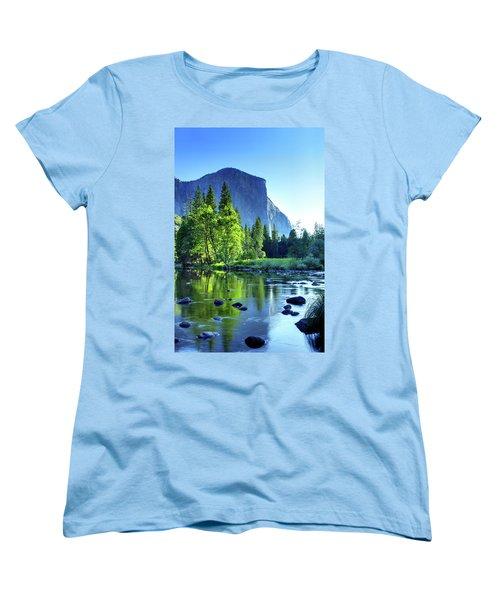 Valley View Morning Women's T-Shirt (Standard Cut)