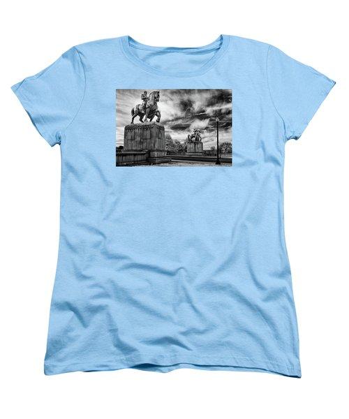 Valor Women's T-Shirt (Standard Cut) by Paul Seymour