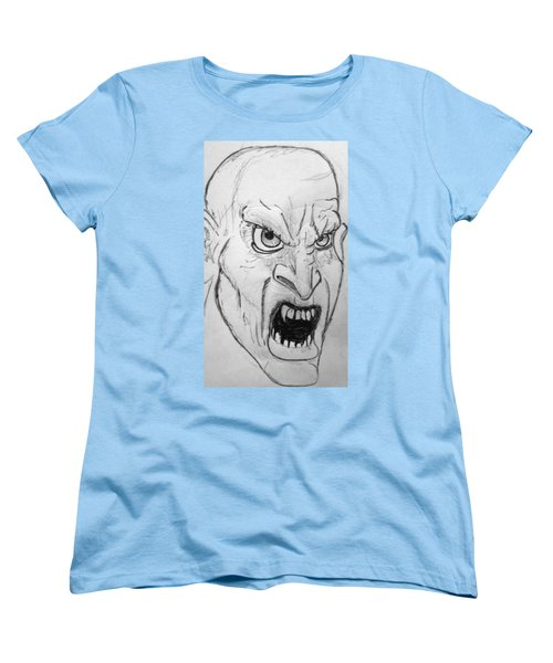 Vampire-y Ghouly Sort Of Thing Women's T-Shirt (Standard Cut) by Yshua The Painter