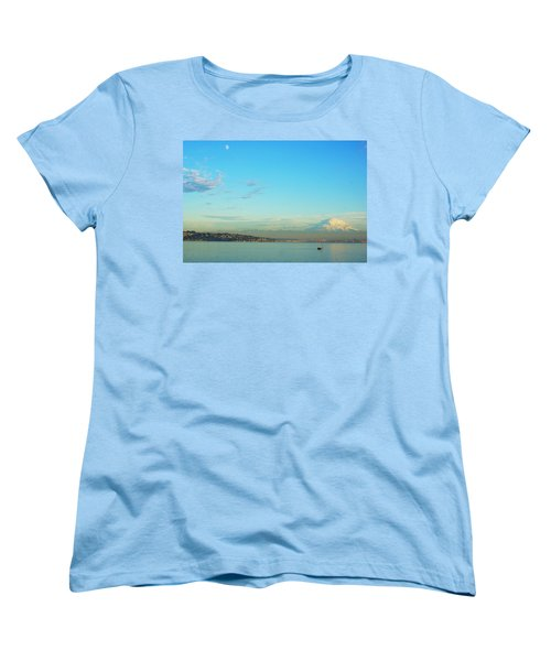 Women's T-Shirt (Standard Cut) featuring the photograph Vashon Island by Angi Parks