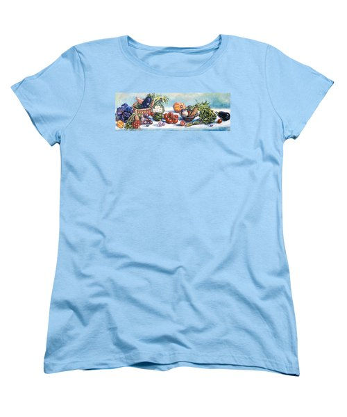 Veggies  Women's T-Shirt (Standard Cut) by Alexandra Maria Ethlyn Cheshire