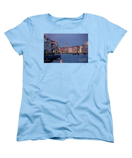 Venice Blue Hour 2 Women's T-Shirt (Standard Cut) by Heiko Koehrer-Wagner