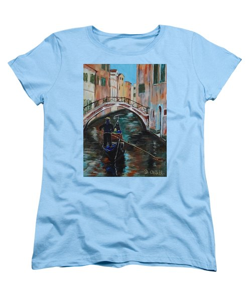 Venice Morning Women's T-Shirt (Standard Cut)