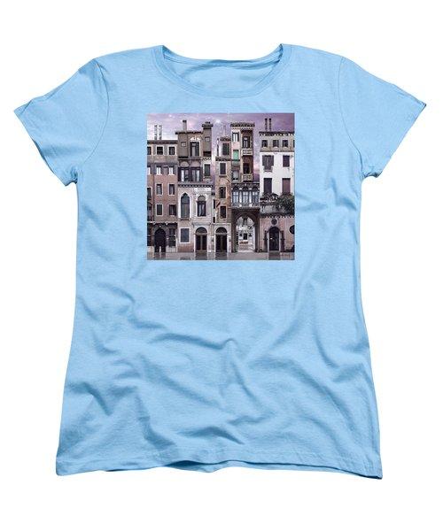 Venice Reconstruction 1 Women's T-Shirt (Standard Cut) by Joan Ladendorf