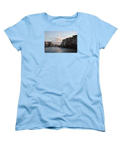 Venice Sunset Women's T-Shirt (Standard Cut) by Robert Moss