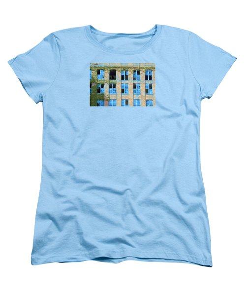 Ventanas Azules Women's T-Shirt (Standard Cut)