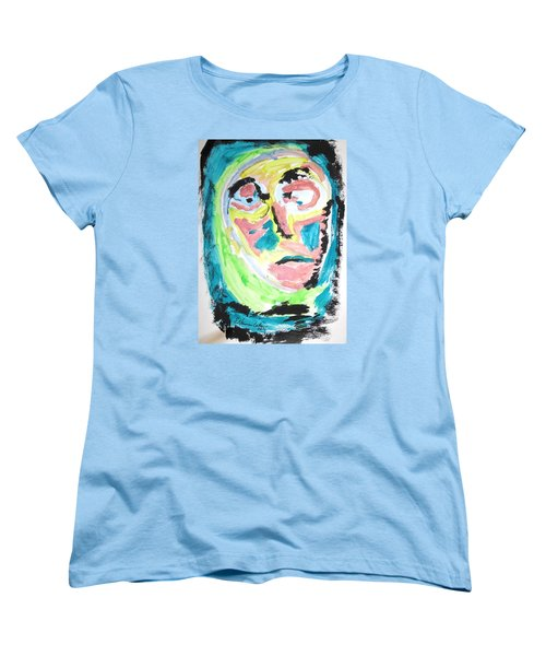 Women's T-Shirt (Standard Cut) featuring the painting Verging On Morbidity by Esther Newman-Cohen