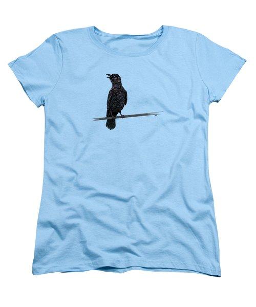 Verklempt Crow Women's T-Shirt (Standard Cut) by ZH Field
