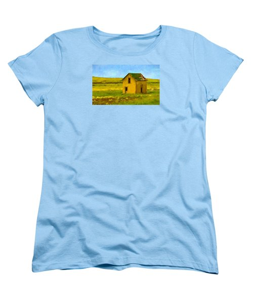 Very Little House Women's T-Shirt (Standard Cut) by Susan Crossman Buscho