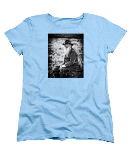Veteran Soldier Women's T-Shirt (Standard Cut) by Alan Raasch