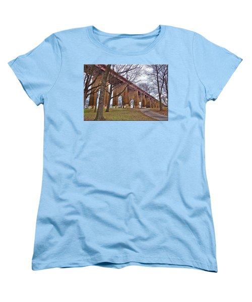 Viaduct Women's T-Shirt (Standard Cut) by Mikki Cucuzzo