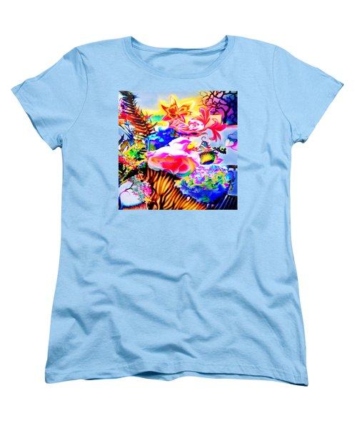 Vibe Vase Women's T-Shirt (Standard Cut) by Adria Trail