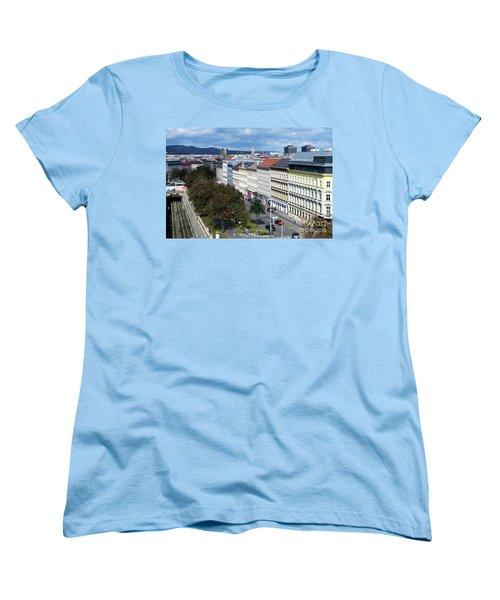 Vienna Beltway Women's T-Shirt (Standard Cut) by Christian Slanec