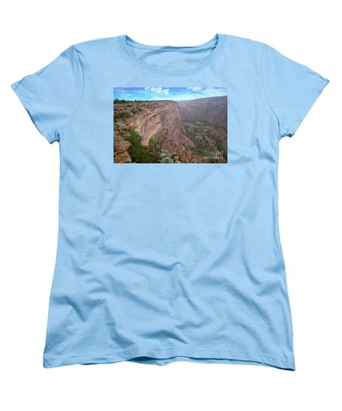 View From The Top Women's T-Shirt (Standard Cut) by Anne Rodkin
