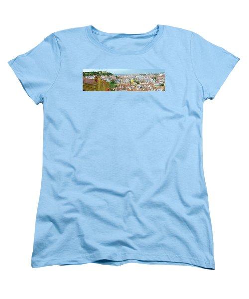 Women's T-Shirt (Standard Cut) featuring the photograph View Of Lisbon by Patricia Schaefer