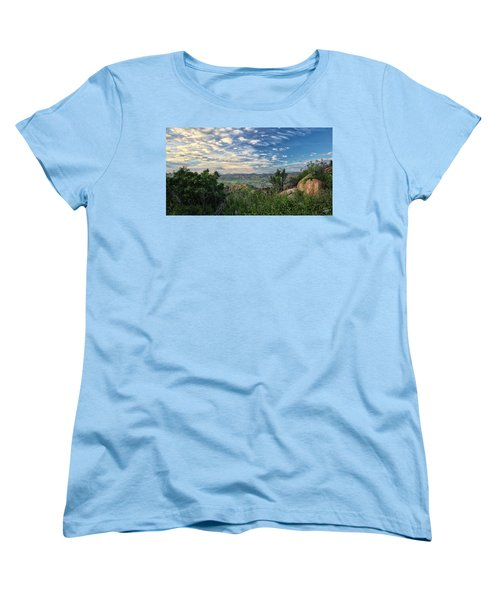 View Of Simi Valley Women's T-Shirt (Standard Cut) by Endre Balogh