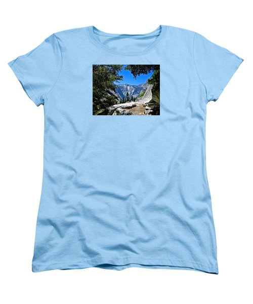 View Of The Sphinx Women's T-Shirt (Standard Cut) by Amelia Racca