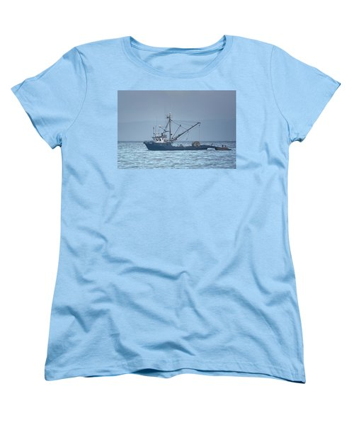 Women's T-Shirt (Standard Cut) featuring the photograph Viking Fisher 3 by Randy Hall