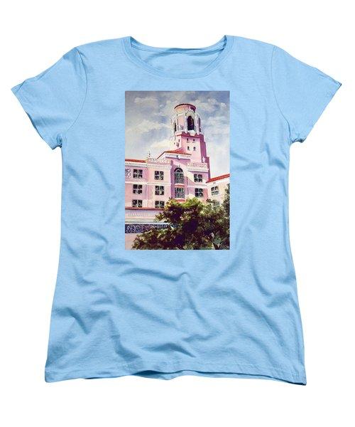 Vinoy, Renaissance Revisted Women's T-Shirt (Standard Cut) by Roxanne Tobaison