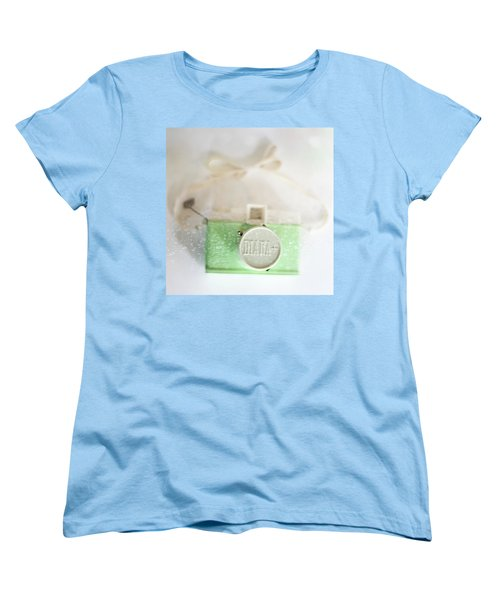 Vintage Camera Fun Splashes Women's T-Shirt (Standard Cut) by Terry DeLuco